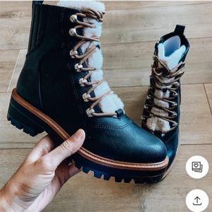 Nine West lace-up boots